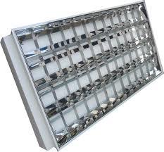Máng đèn âm trần 3 bóng paragon